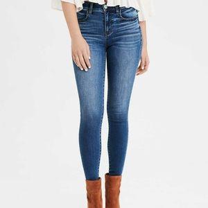 American Eagle High Rise Jeggings Skinny Jeans aeo
